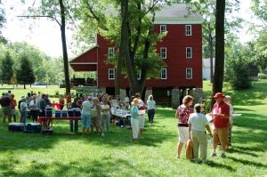 Adam's Mill service picnic